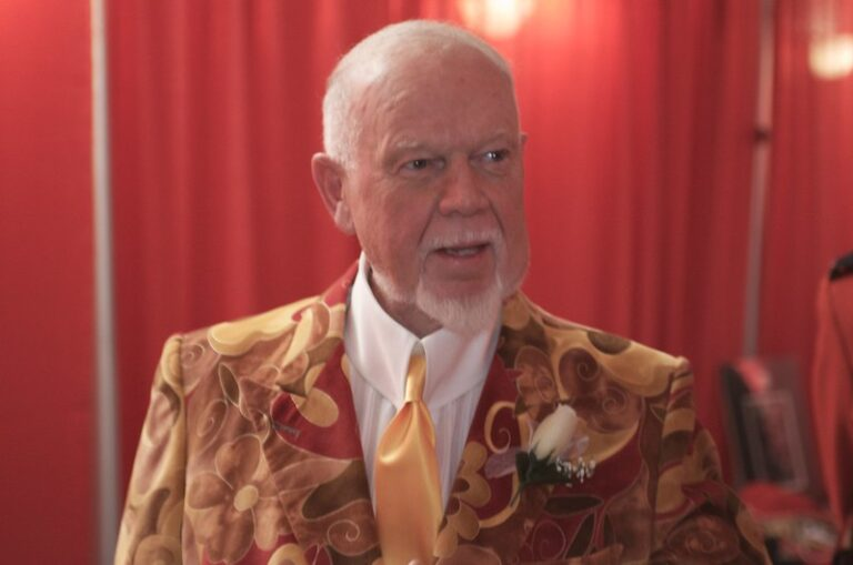 Paging Don Cherry…..You Are Wanted at The Street Rink!
